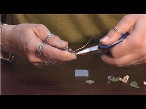 Jewelry Making With Household Items : How to Make Seashell Jewelry