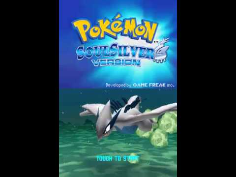 Pokemon Soul Silver Intro and Title Screen