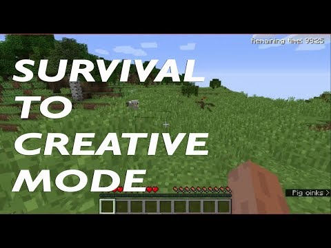 How to switch from Survival to Creative Mode in Minecraft 1.11.2