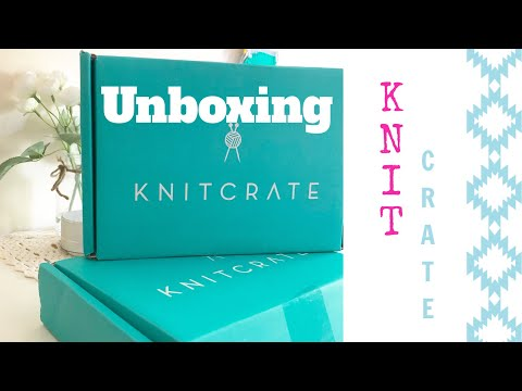 Unboxing KNITCRATE Membership May 2018 | TeoMakes