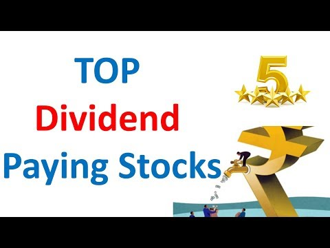 Top Dividend Paying Stocks in Indian Stock market