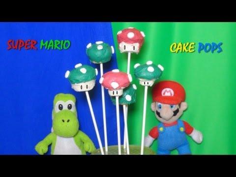 Super Mario Bros Cake Pops Recipe Video by Bhavna - No cake pop maker needed!