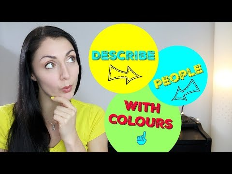 10 COLOUR (Color) IDIOMS / Vocabulary & Phrases to Describe People | Learn British English