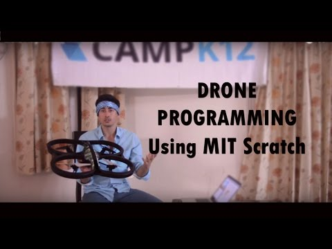 Drone Programming with Scratch (MIT)