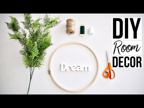 DIY Room Decor   Hanging Wall Decor