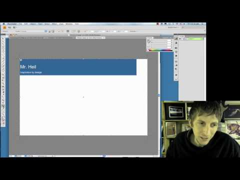 Me 2.0 - Create a Custom Banner in Blogger with Illustrator