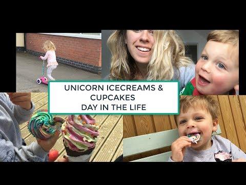 UNICORN ICECREAMS | DAY IN THE LIFE | FAMILY VLOG