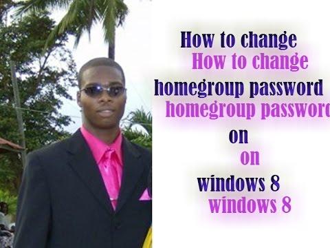 Windows 8 homegroup password