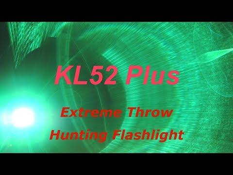 KL52 Plu Extreme Throw Flashlight