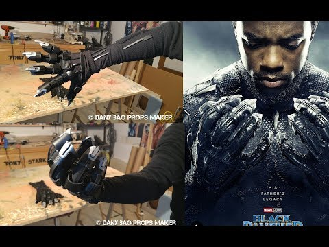 DANY BAO - BLACK PANTHER MOVIE REAL GLOVES RETRACTABLE CLAWS