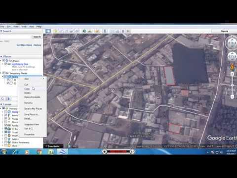 Polygon Digitization Google Earth
