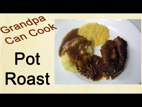 Pot Roast in the Crock Pot - Melt in Your Mouth, Juicy, Rich and Easy