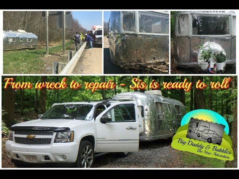 From wreck to repair - Sis is ready to roll