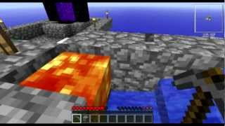Minecraft - Skyblock - Ep. 5. Portal al Nether sin mechero