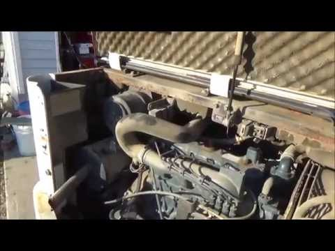 How to start Bobcat after changing fuel filter