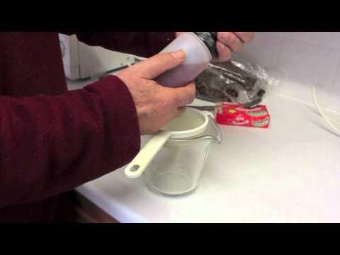 Make brilliant jelly pellet fishing bait