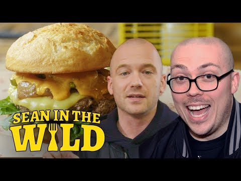 watch Anthony Fantano and Sean Evans Review the Impossible Burger | Sean in the Wild