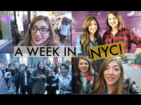 Whirlwind NYC Trip With Estée! | Amelia Liana Travel Vlog