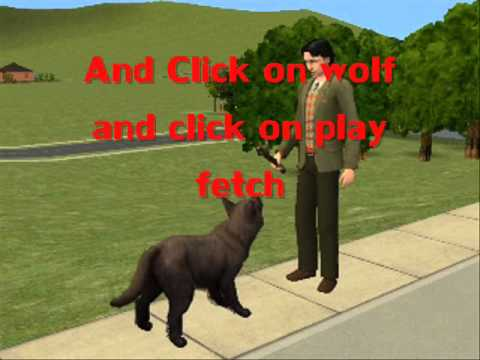 How To Make Your Sims Become A WereWolf And Cure It FULL Tutorial HD