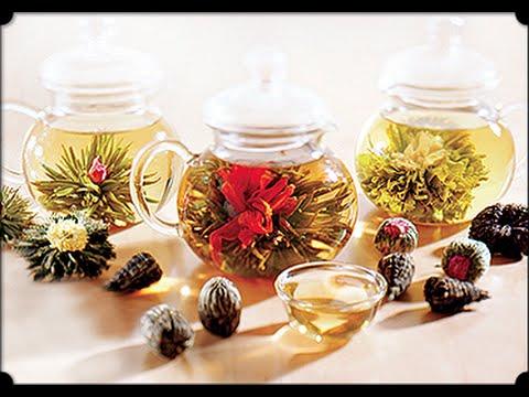 Blooming Tea - Flowering Tea - Teavirág