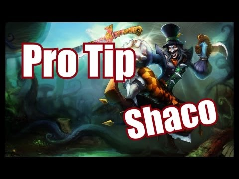 Pro Tip: Shaco | Using boxes properly to take down Towers faster | High Elo Season 3 LoL