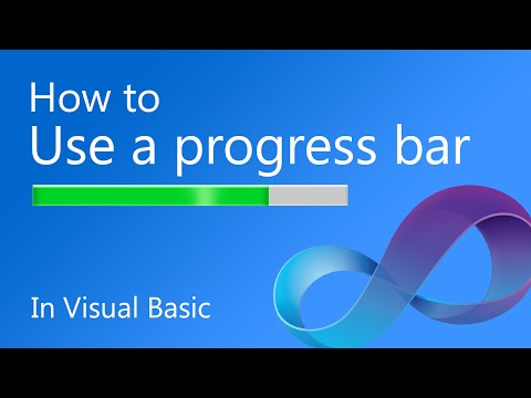 How to use a Progress Bar in Visual Basic