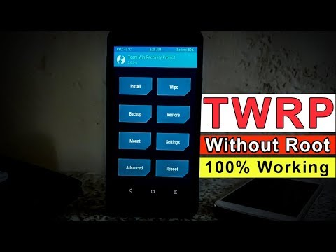 [no root] TWRP on any phone - 🔥🔥🔥 Easy method for android 7.1.2 naugat   custom recovery android