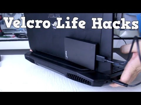 6 Velcro Life Hacks