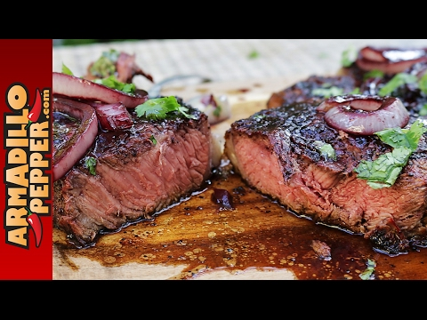 Grilled Ribeye Steaks with Red Wine Sauce & Tennessee Whiskey Steak Seasoning