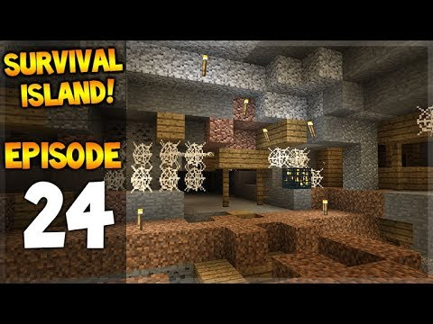WE FOUND THE SPONGE ROOM & A MINESHAFT!! Survival Island - Let's Play 24