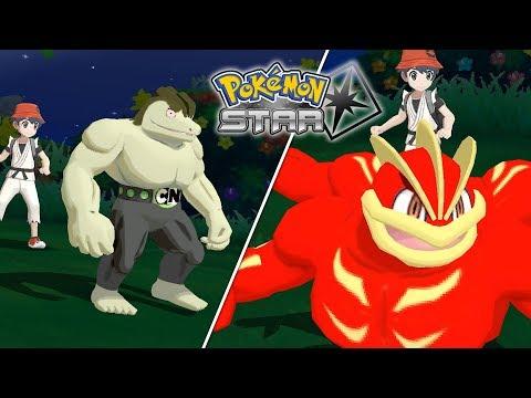 Alolan Machoke & Machamp Showcase in Pokémon Star (3DS Rom Hack)
