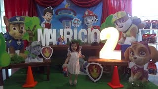 Paw Patrol Birthday Party | Baby Playful