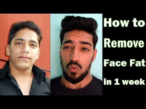 How to Remove Face Fat in 1 Week (Men & Women) | 4 Easy Tips