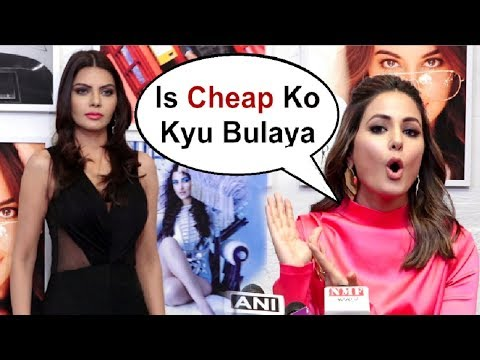 Xxx Mp4 Hina Khan Shows Attitude On Sherlyn Chopra At Dabboo Ratnani Calendar Launch 2019 3gp Sex