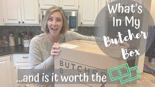 BUTCHER BOX UNBOXING // PRICE COMPARISONS // PROS \u0026 CONS