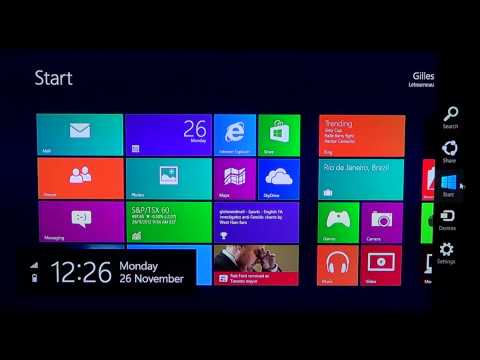 Windows 8 - Turn on and off Notifications