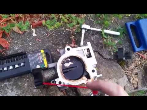 Cleaning the Throttle Body on your Dodge, Plymouth, or Chrysler minivan.