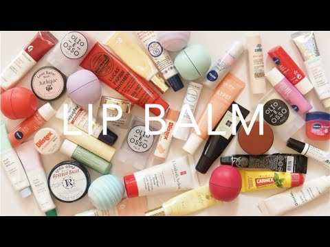 Product Pile: Lip Balms | Repairing and Light, Drugstore and High End Collection