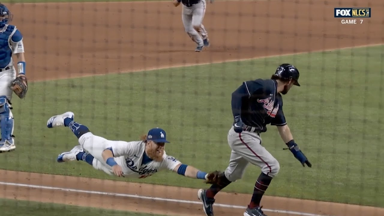 Justin Turner turns a game-changing double play in game 7 of the NLCS, a breakdown