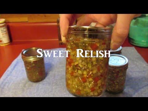 Canning Sweet Relish