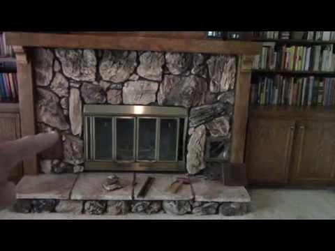 Removing an old Heatilator Fireplace