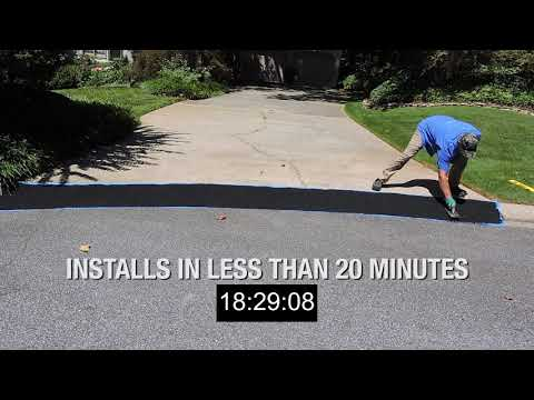 How To Build A Driveway Ramp -  Curb Ramp™ Installation - Driveway Ramp For Lowered Cars