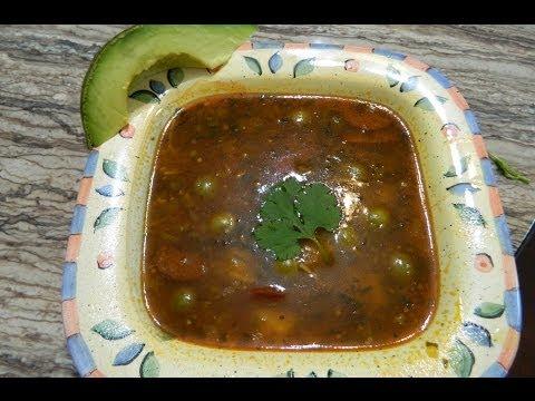 How to make Boricua style Sopa de Salchichon
