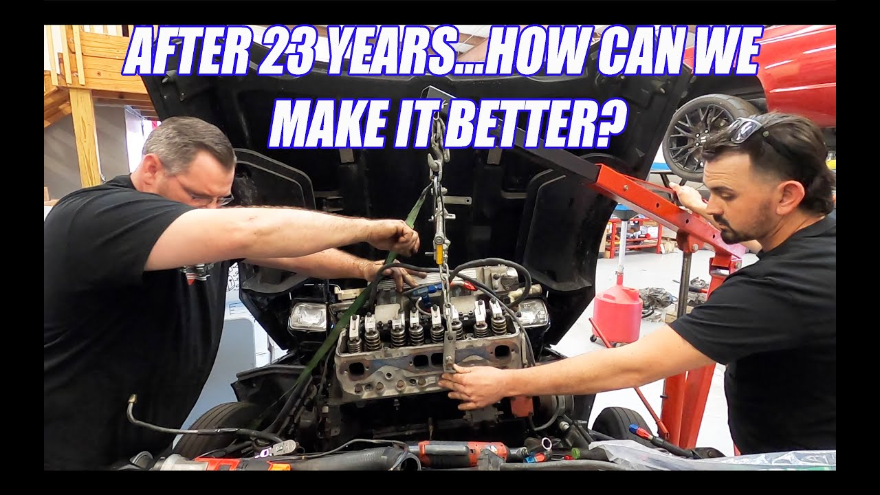 Tearing The Engine Out Of My Fathers Masterpiece & Budget CNC Plasma Crash Course pt.1