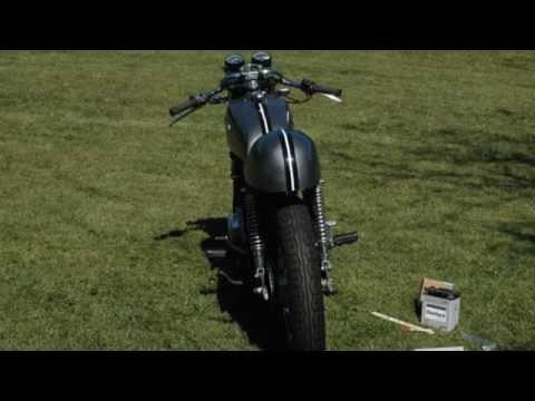 Honda CB360 Bike Build Time Lapse