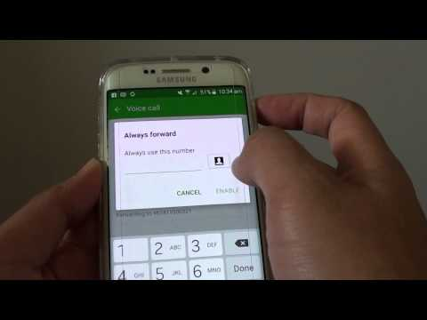 Samsung Galaxy S6 Edge: How to Forward Incoming Call