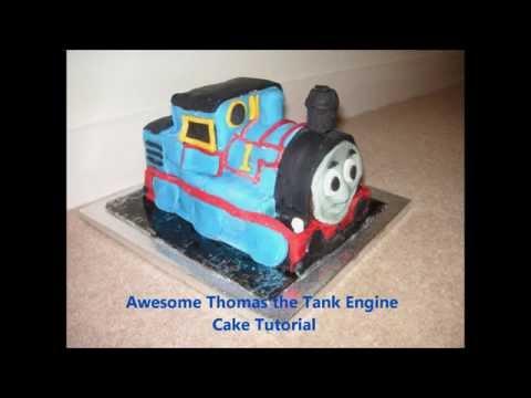 Awesome Thomas the Tank Engine Cake Tutorial