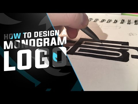 Tutorial: Logo 'Monogram' Design Process (Sketch)