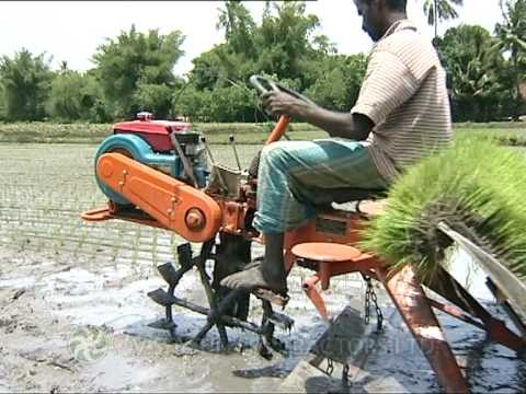 VST - Shakti Yanji Rice Transplanter