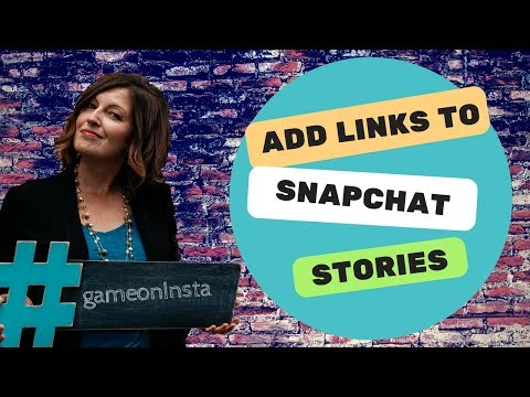 How to Add Website Links to Your Snapchat Story
